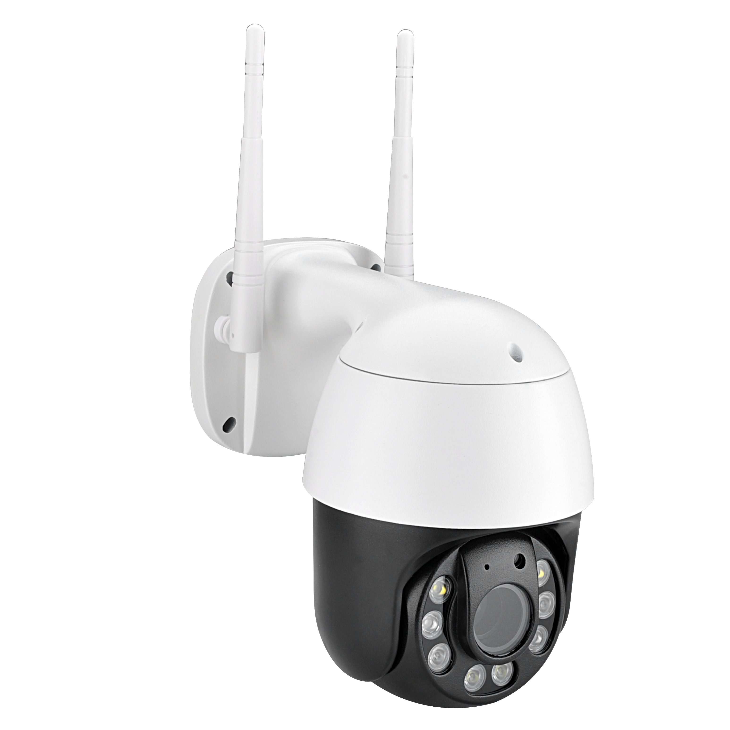 Outdoor 2.5inch PTZ 2.4G WiFi Security Camera Wireless Surveillance HD 1080P Pan/Tilt 5X Optical Zoom 150ft Night Vision Two-Way Audio IP66 Weatherproof Motion Detection E-Mail/Push Alerts AT-200TW