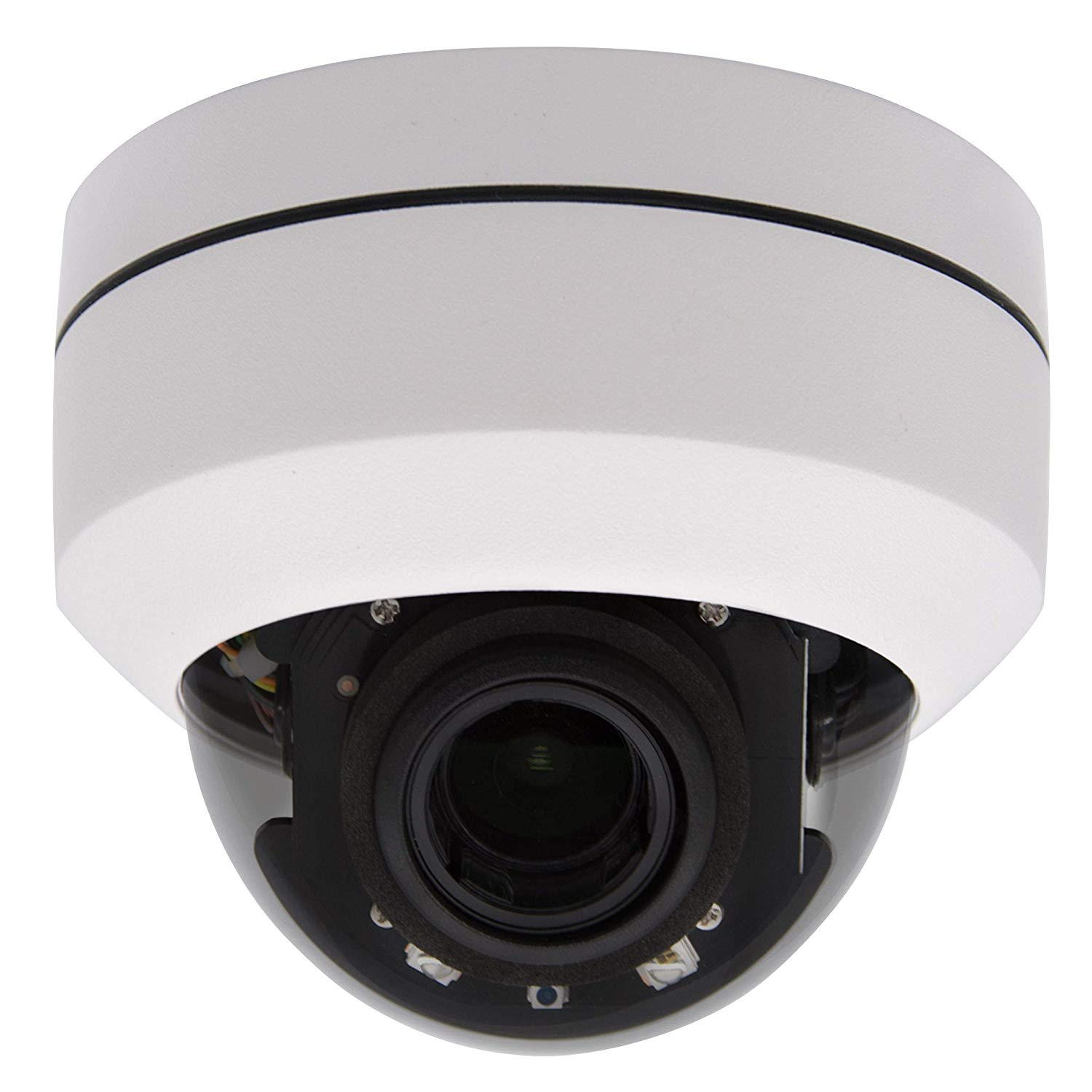 Outdoor 5MP PTZ POE IP Dome Security Ceiling Camera 4X